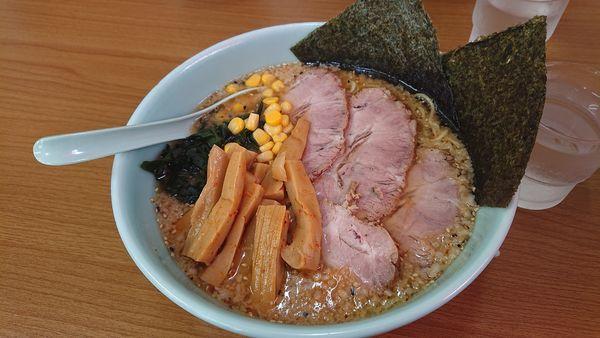 「味噌チャーシュー麺」@ラーメンショップ 卒島店の写真