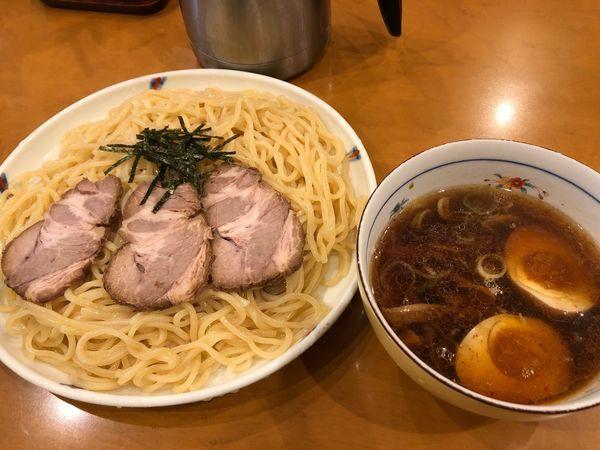 「味玉ちゃーしゅーつけ麺」@好日の写真