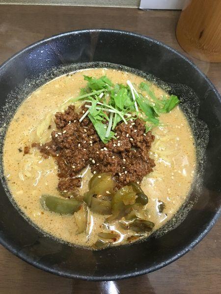 「こだわり担々麺」@ごまやの写真