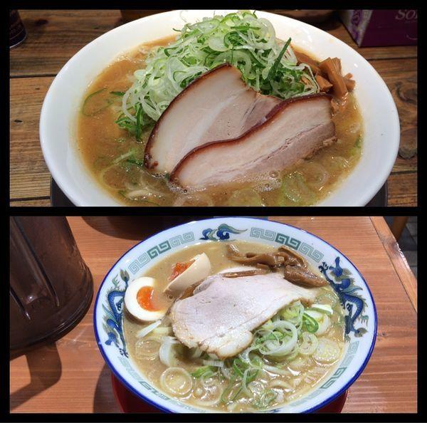 「こく煮干し・ねぎだく味玉¥1,000」@長尾中華そば 東京神田店の写真