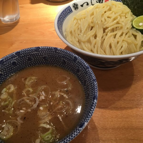 「濃厚つけ麺 大盛り」@つじ田 日本橋八重洲店の写真