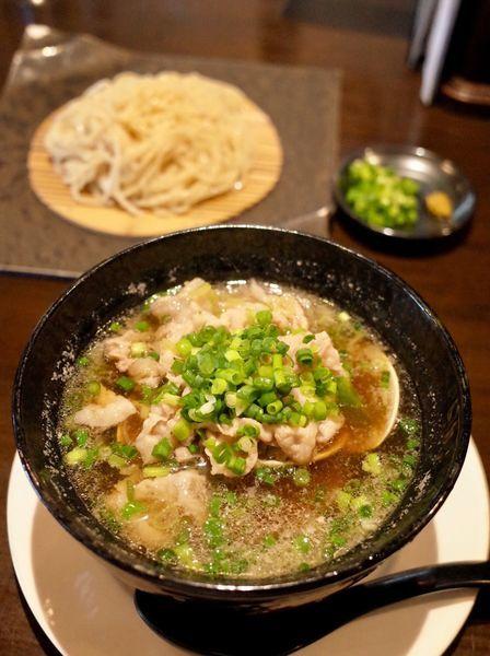 「はまぐり美豚つけ麺…1200円」@江戸YAの写真