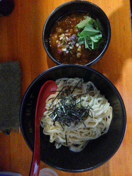 「特製鰹醤油つけ麺880円」@麺処 秋もとの写真
