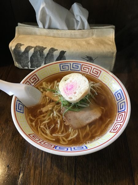 「しょうゆラーメン」@餃子と麺 いせのじょうの写真