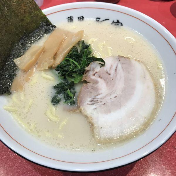 「豚骨ラーメン(¥490)」@蒲田ラーメン K家 蒲田本店の写真