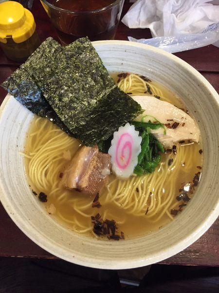 「極!煮干し しお ¥850」@らーめん そよ風の写真