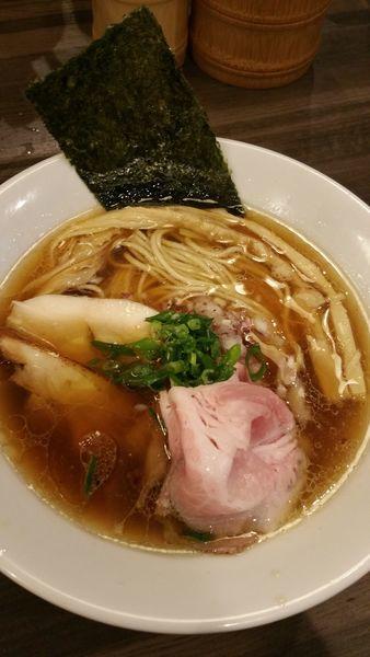 「醤油鶏そば」@自家製麺 鶏冠の写真