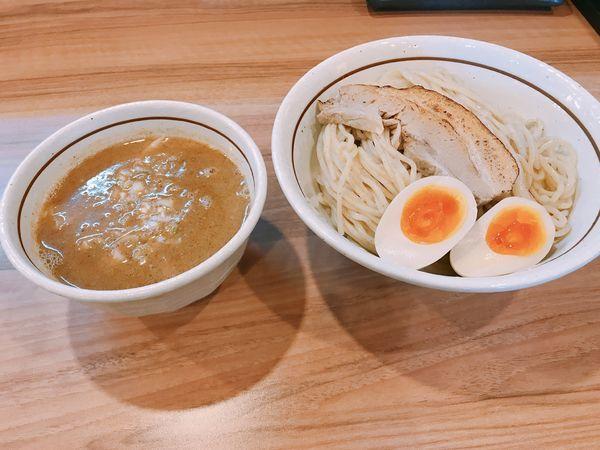 「特製つけ麺」@麺屋かとうの写真