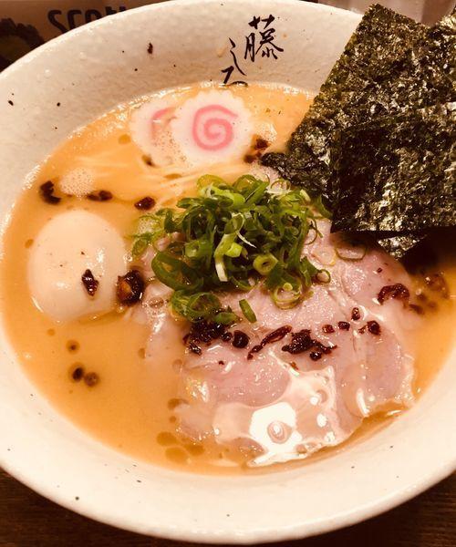 「濃厚鶏白湯 特製ラーメン」@麺屋 藤しろ 目黒店の写真