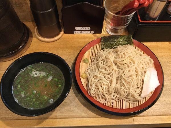 「鯛煮干しつけそば(¥850)」@麺屋正路の写真