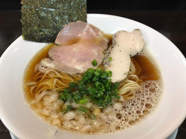 「煮干中華そば  720円」@麺屋 満開の写真