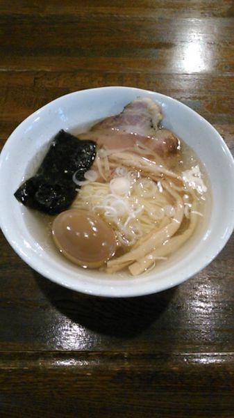 「煮玉子らーめん(塩) 750円」@上州地鶏らーめん まるわの写真