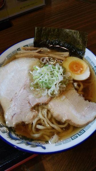 「エソ煮干し中華醤油」@麺場 くうが?の写真