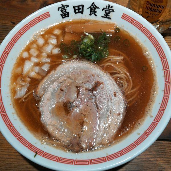 「煮干しそば」@松戸中華そば 富田食堂の写真