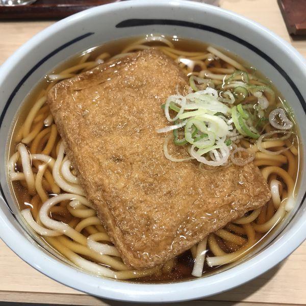 「きつね(¥370)」@吉そば 日本橋店の写真