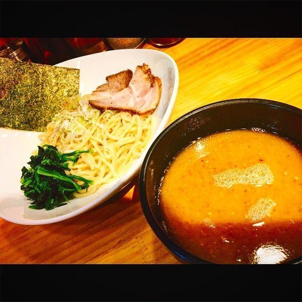「牛骨つけ麺」@麺屋うしまるの写真