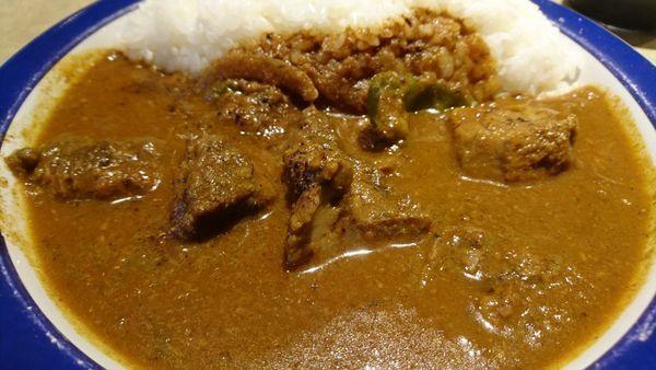 「ビーフカレー(20倍)」@エチオピア カリーキッチンの写真