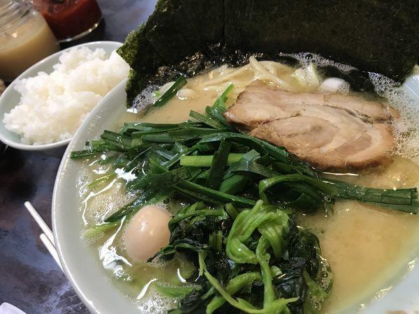 「塩ラーメン 700円 ニラ 50円 海苔 50円」@壱六家 大森店の写真