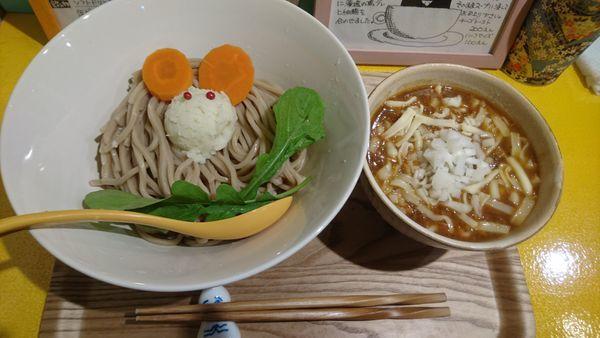 「ビーフつけ麺(大盛)+チーズ」@ビーフラーメン&つけ麺 シゲジンの写真