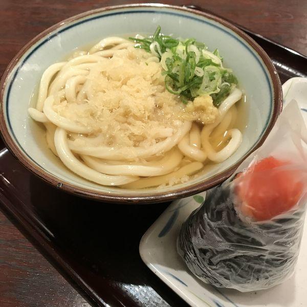 「朝麦定食(¥350)」@讃岐製麺 麦まる 八重洲地下街南口店の写真