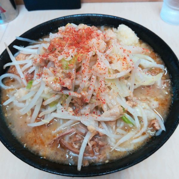 「味噌ラーメン」@ラーメン二郎 京成大久保店の写真