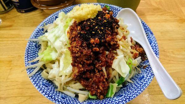 「汁なし担々麺(中・ニンニク)」@らーめん きじとらの写真