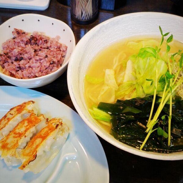 「【期間限定】昆布ラーメンサービスセット 1100円」@麺屋KENJUの写真