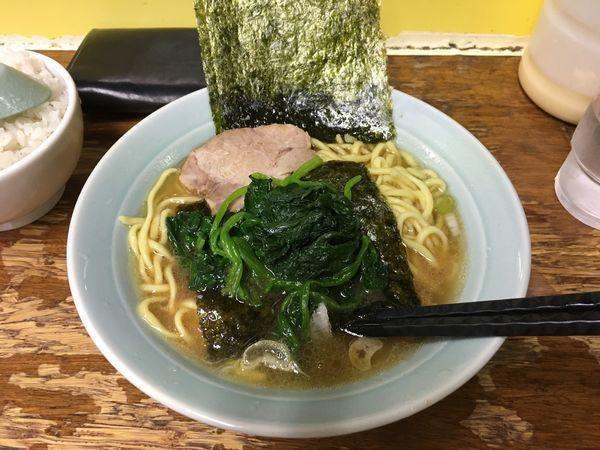 「ラーメン(ほうれん草)」@まこと家の写真