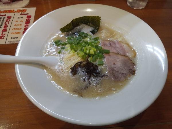 「ラーメン」@麺道我飯の写真
