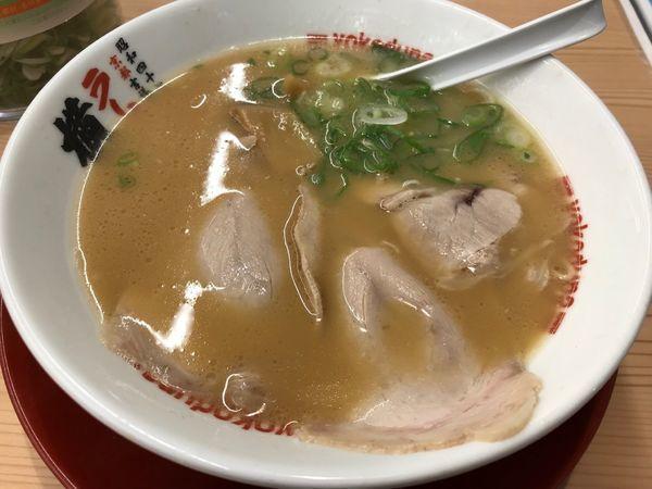 「ラーメン 並 硬め 650円」@ラーメン 横綱 桂五条店の写真