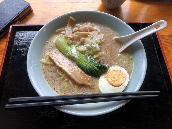 「上高地食堂ラーメン」@松本市営上高地食堂の写真