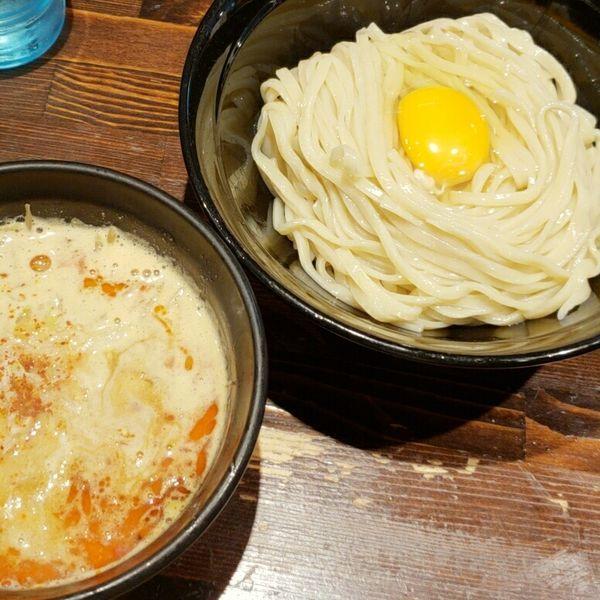 「卵かけつけ麺 900円」@麺や 蒼 AOIの写真