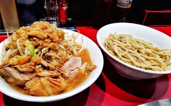 「小つけ麺」@立川マシマシ 国分寺店の写真