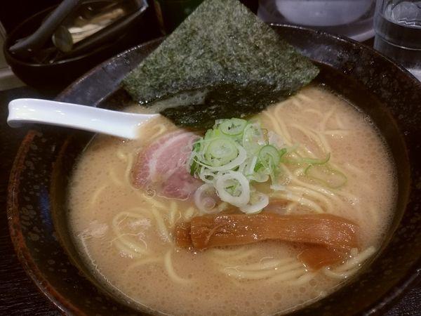 「ラーメン650円」@らーめん 喜丸の写真
