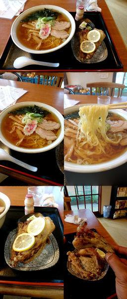 「1日5食限定『特製トン・テールラーメン+大盛』」@もりんじ亭の写真