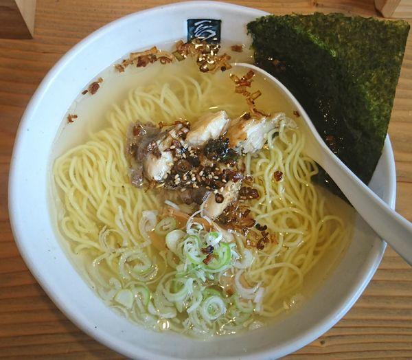 「鯖らーめん ¥730」@いちろくらーめん 福井駅前店の写真