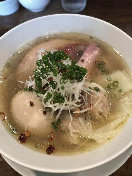 「特製塩拉麺 ¥1150」@創作麺工房 鳴龍の写真