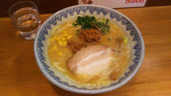 「特別限定麺  信州味噌ラーメン」@麺屋蕪村の写真