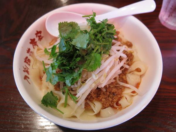 「汁なし麻辣刀削麺:700円」@刀削麺荘 唐家 秋葉原店の写真