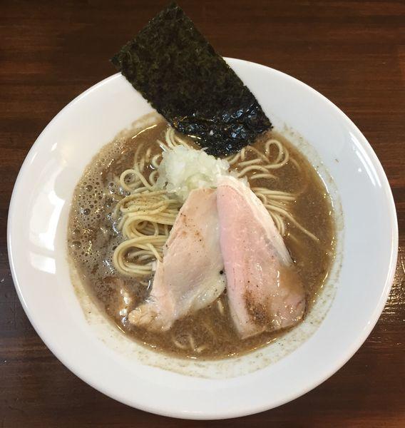「煮干し中華蕎麦780円」@煮干し中華蕎麦 山崎の写真