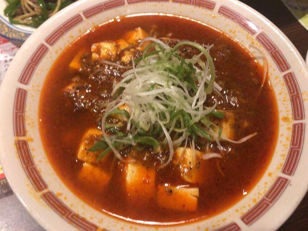 「刺激のコク旨マーボー麺 808円」@バーミヤン 瀬谷南台店の写真