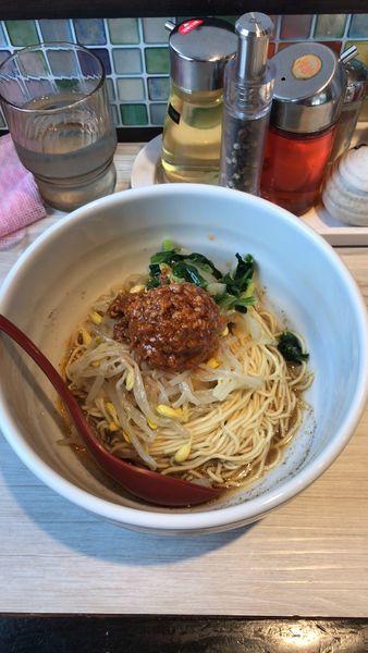 「汁なし担々麺」@めだかTANTANの写真