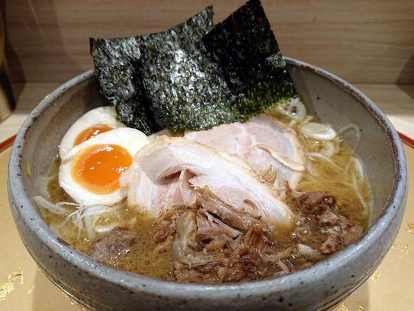 「特製生姜鶏白湯」@麺屋 音 別邸の写真