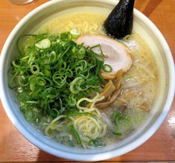「味噌+ネギ(830円)」@札幌らーめん 北の大地の写真
