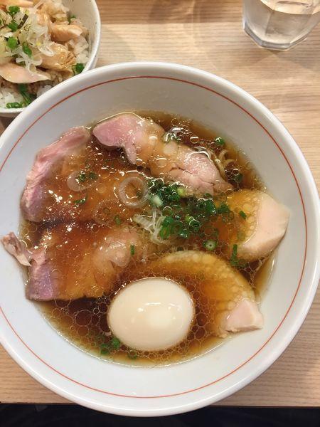 「鶏そば」@麺処 鶏谷の写真