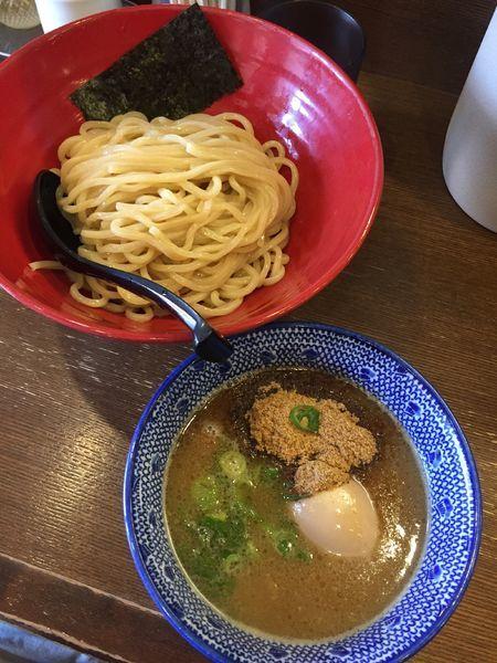 「味玉つけ麺 ¥900」@中華そば うづまきの写真