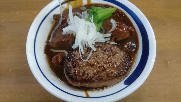 「【限定神無月】ぶっかけ牛タン先シチューB」@MENYA 食い味の道有楽の写真