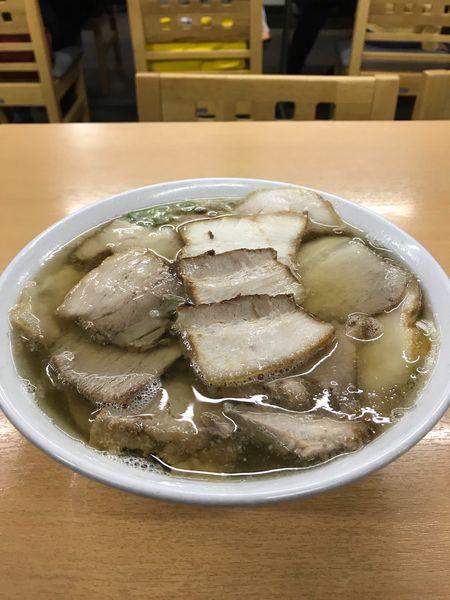 「肉そば 大盛り」@坂内食堂 喜多方本店の写真