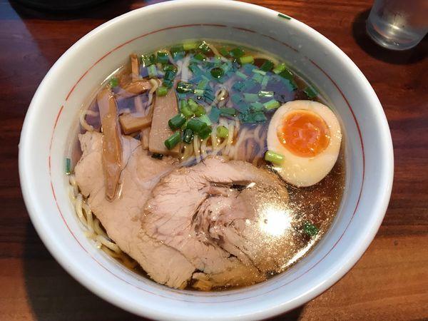 「醤油ラーメン」@麺処ほおずきの写真