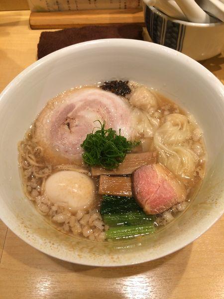 「特製醤油そば1500円」@饗 くろ㐂の写真